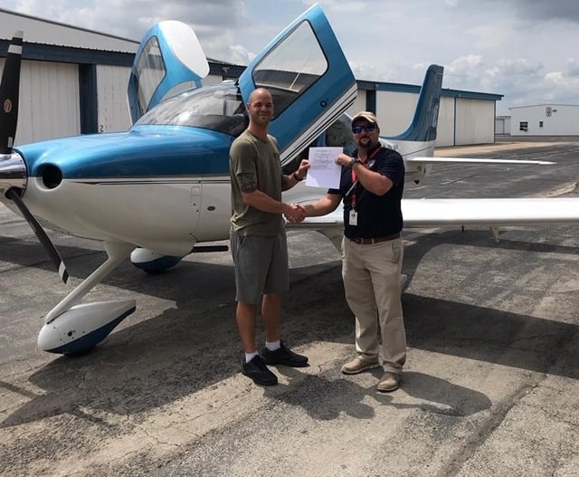 Student Checkride Passed